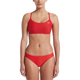 Nike Swim Solid Bikini Femme, university red